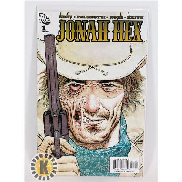 #275 DC DETECTIVE COMICS JONAH HEX #1 DIRECT SALES
