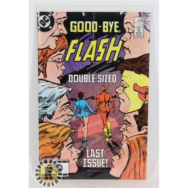 #278 DC DETECTIVE COMICS FLASH #350 GOODBYE FLASH