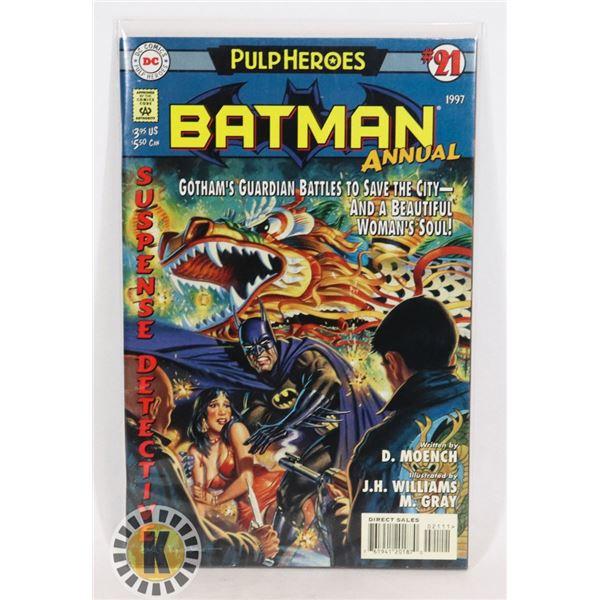 #279  DC DETECTIVE COMICS PULP HEROS BATMAN ANNUAL