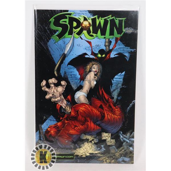 #287  IMAGE COMICS SPAWN #121 2002 CAPULLO COVER