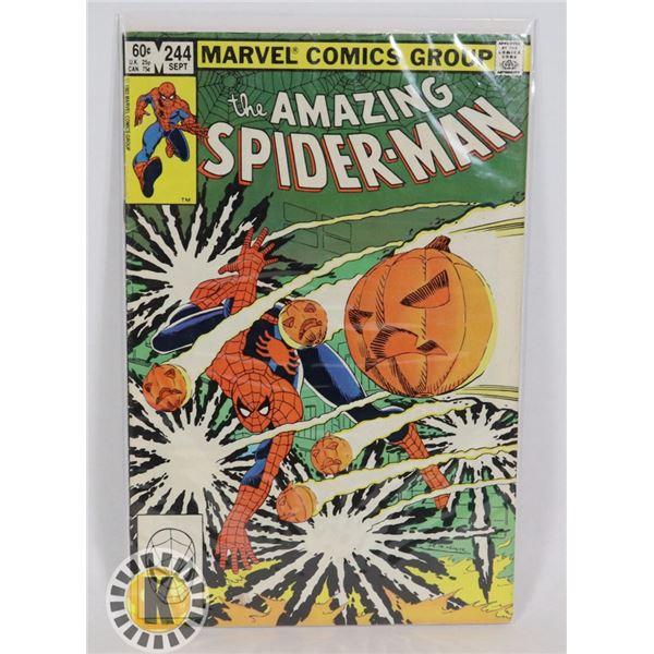 #313  MARVEL COMICS AMAZING SPIDER-MAN #244 1983