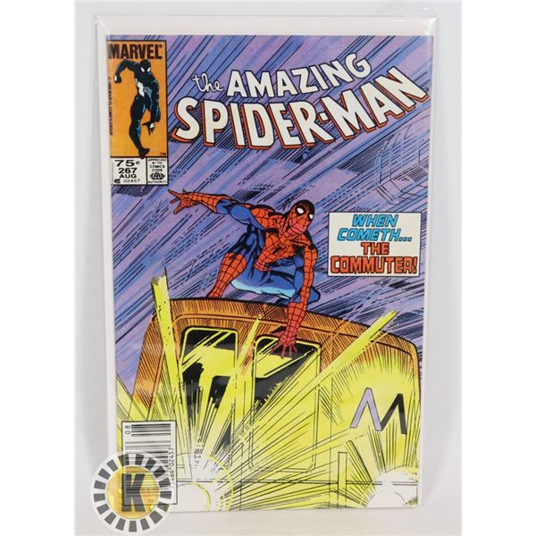 #314  MARVEL COMICS AMAZING SPIDER-MAN #267 1985