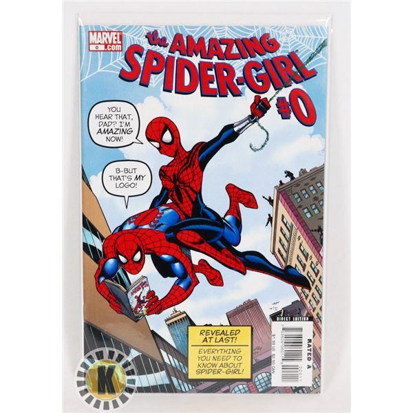 #319  MARVEL COMICS THE AMAZING SPIDER-GIRL #0
