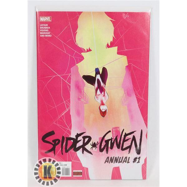 #320  MARVEL COMICS SPIDER GWEN ANNUAL #1 DIRECT