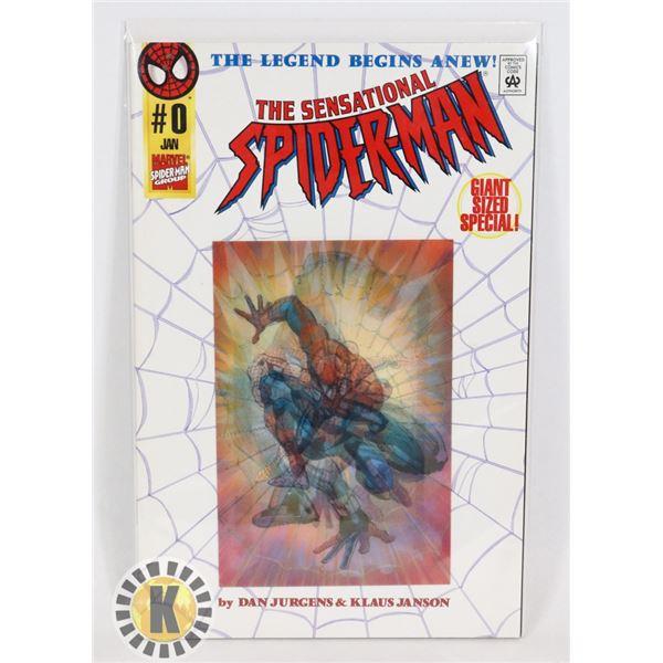 #321  MARVEL COMICS THE SENSATIONAL SPIDER-MAN #0