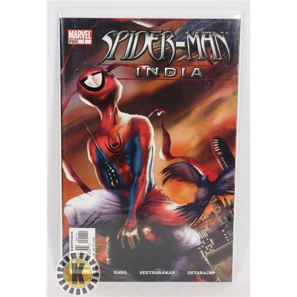 #323 KEY MARVEL COMICS SPIDER-MAN INDIA #1 DIRECT