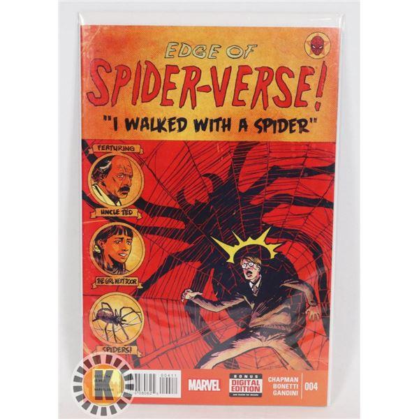 #326  MARVEL COMICS EDGE OF SPIDER-VERSE! #4 1ST