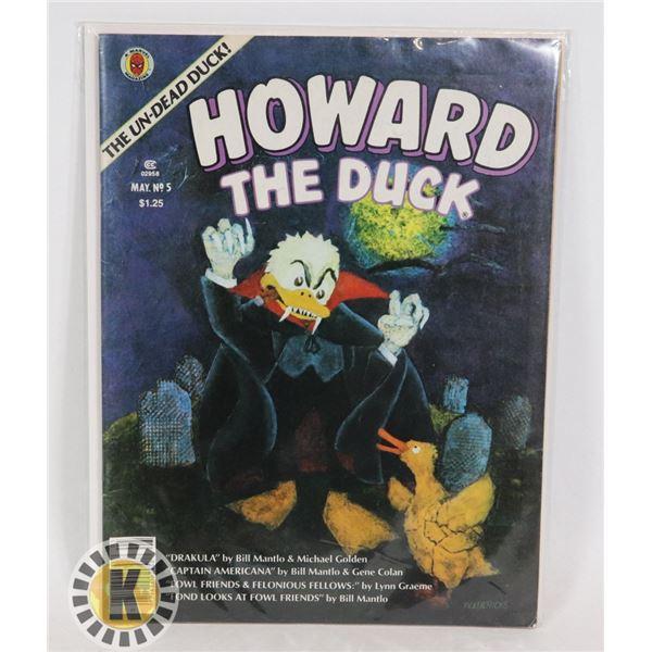 #331  MARVEL MAGAZINE HOWARD THE DUCK #5 1980