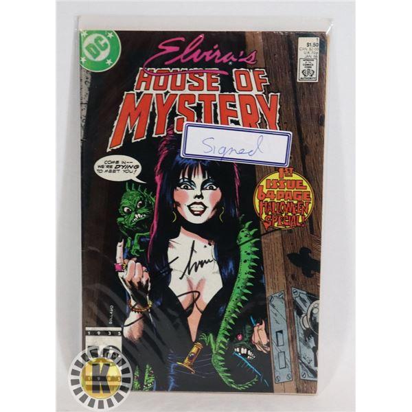 #347 DC DETECTIVE COMICS ELVIRA'S HOUSE OF MYSTERY