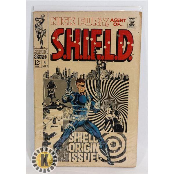 #349 RARE MARVEL COMICS NICK FURY AGENT OF SHIELD