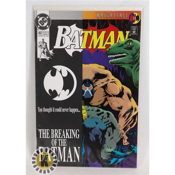 #354  DC DETECTIVE COMICS BATMAN #497 THE BREAKING