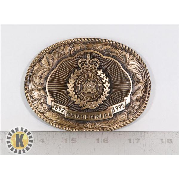 #357 EDMONTON POLICE 1892-1992 CENTENNIAL BELT