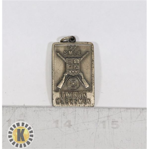 #417 DOMINION MARKSMEN SMALL SHOOTING MEDAL