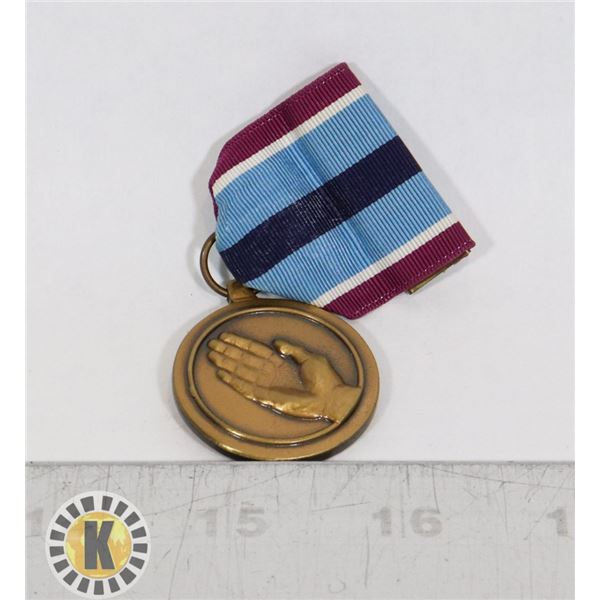 #433 AMERICAN USA HUMANITARIAN SERVICE MEDAL