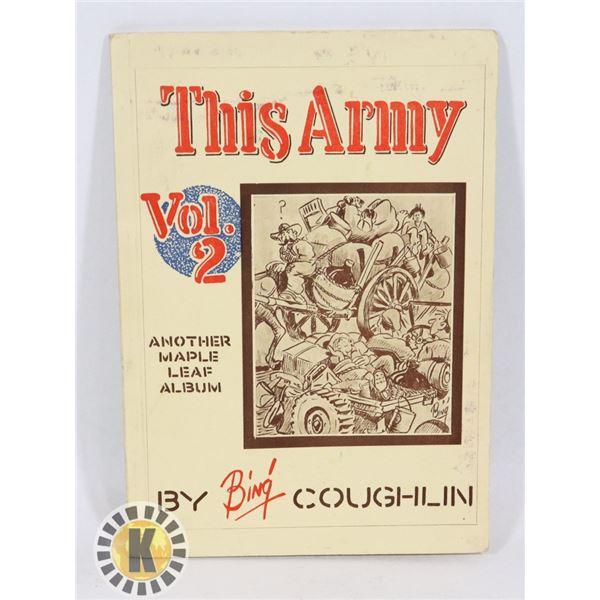 #447  WW2 CANADIAN MAPLE LEAF CARTOON BOOK 1945