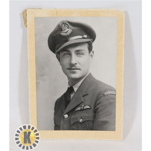 #451  WW2 ROYAL CANADIAN AIR FORCE RCAF PIPHOTO