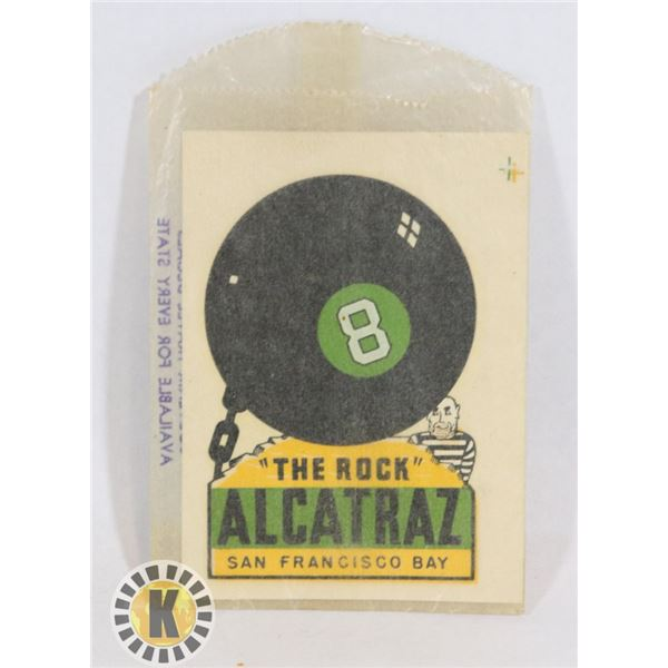 #480  ALCATRAZ THE ROCK SAN FRANCISCO VINTAGE