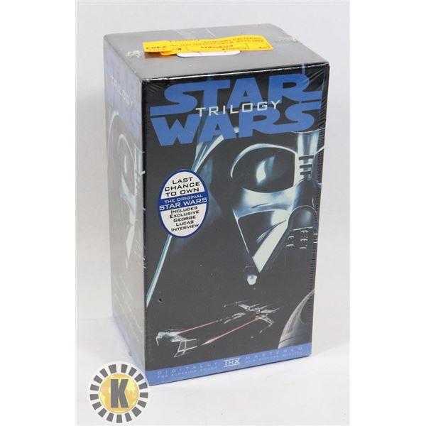 #489 STAR WARS SEALED 1995 VHS VIDEO SET ORIGINAL