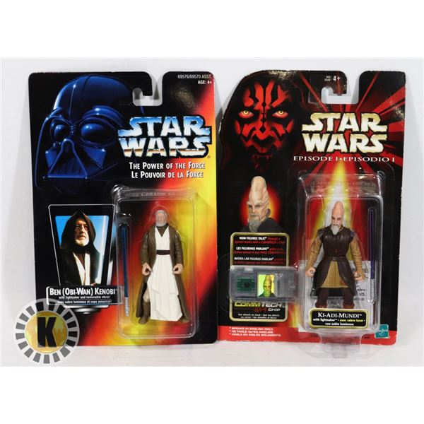 #503 STAR WARS OF 2 SEALED CARDED ACTION FIGURES