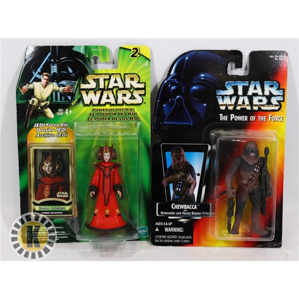#506 STAR WARS OF 2 SEALED CARDED ACTION FIGURES