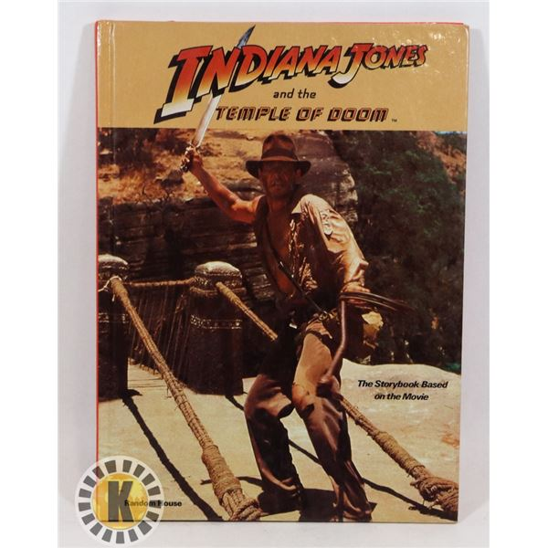#508 VINTAGE INDIANA JONES AND THE TEMPLE OF DO
