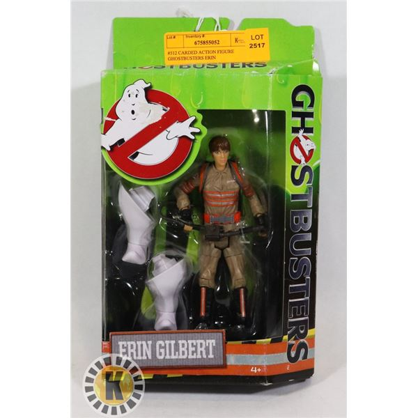 #512 CARDED ACTION FIGURE GHOSTBUSTERS ERIN