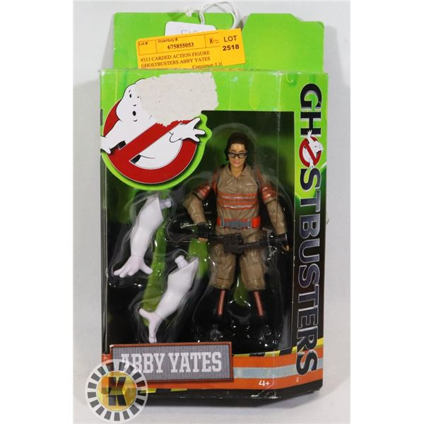 #513 CARDED ACTION FIGURE GHOSTBUSTERS ABBY YATES