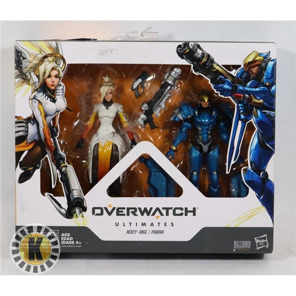 #528 BOXED ACTION FIGURES SET OF 3 OVERWATCH