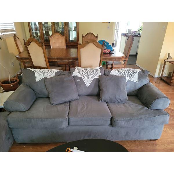Microfibre Couch (Grey)