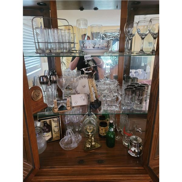 Various Glassware - Collectible - Anniversary - Decorative