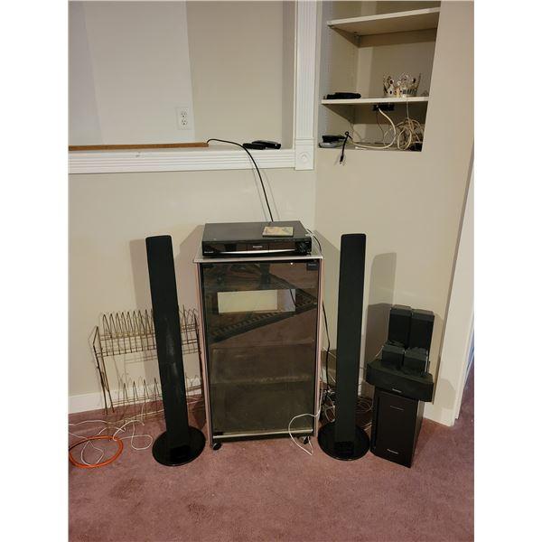 Samsung and Panasonic Stereo Equipment