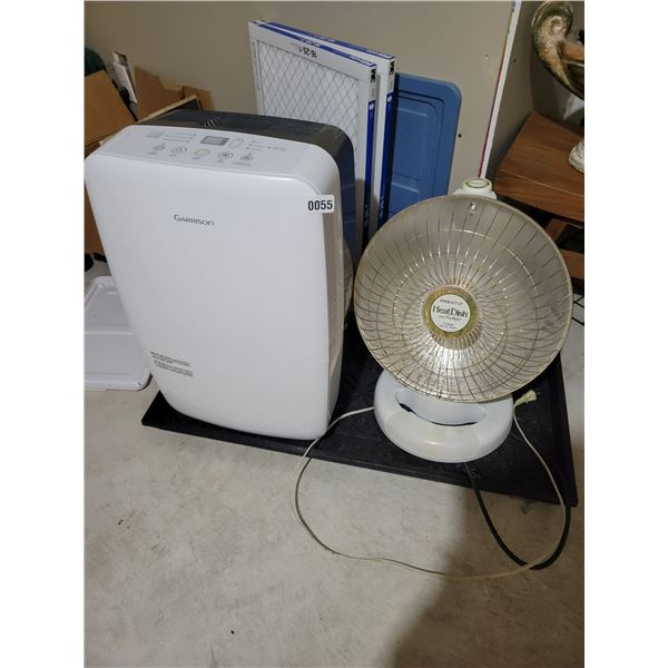 Garrison A/C unit and Space Heater