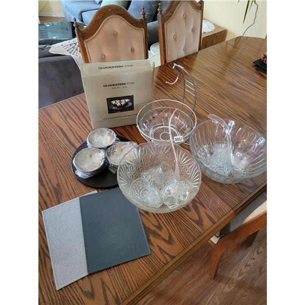 Punch Bowls - 11 Cups - Appetizer Bowls