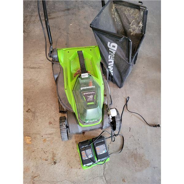 Greenworks 48 Volt Lawn Mower