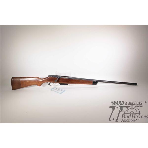 """Non-Restricted shotgun Stevens model 58, 12Ga 2 3/4"""" bolt action, w/ bbl length 26"""" [Blued fixed cho"""