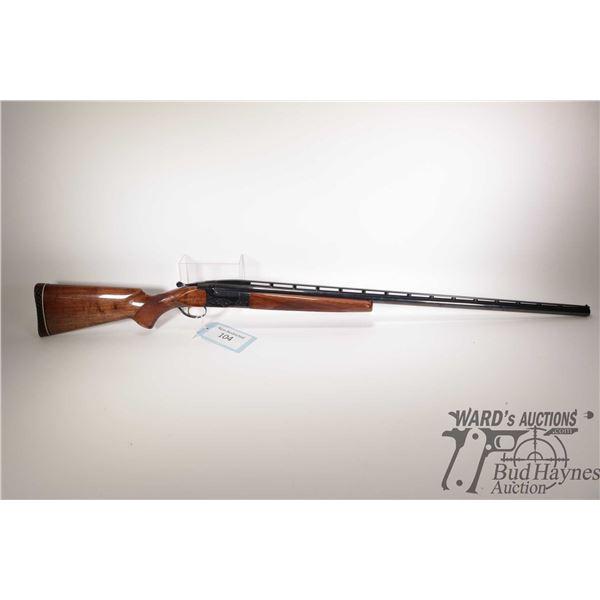 "Non-Restricted shotgun Browning (Japan) model BT-99, 12Ga 2 3/4"" Single Shot hinge break, w/ bbl len"