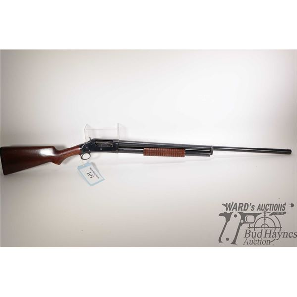"Non-Restricted shotgun Winchester model 1897, 12Ga 2 3/4"" pump action, w/ bbl length 30"" [Blued barr"