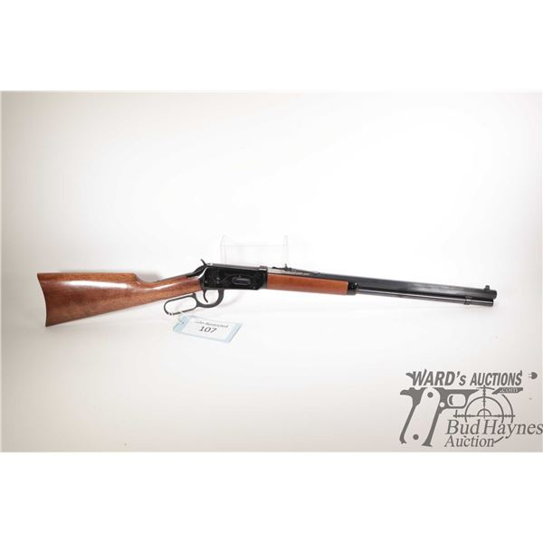 """Non-Restricted rifle Winchester model 94 (Canadian Cent. '67), 30-30 lever action, w/ bbl length 20"""""""