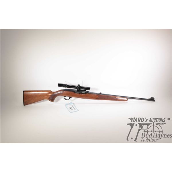 """Non-Restricted rifle Winchester model 490, 22LR ten shot semi automatic, w/ bbl length 22"""" [Blued ba"""
