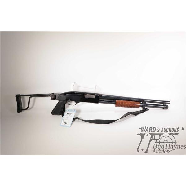 "Non-Restricted shotgun Winchester model 1200 Defender, 12Ga 2 3/4"" & 3"" pump action, w/ bbl length 1"