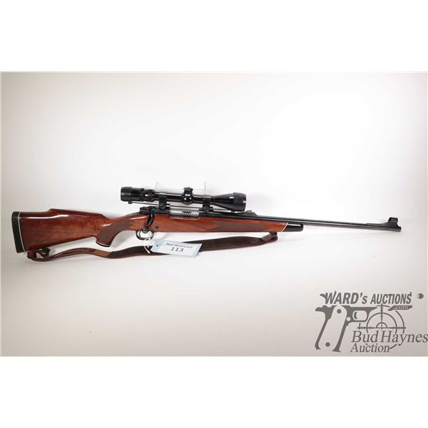 """Non-Restricted rifle Winchester model 70XTR, 30-60 SPRG. bolt action, w/ bbl length 21 1/2"""" [Blued b"""