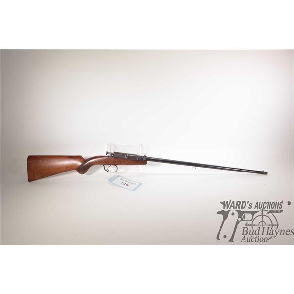 "Non-Restricted rifle Deutsche Werke model 1, 22LR single shot breech block, w/ bbl length 22 3/4"" [B"