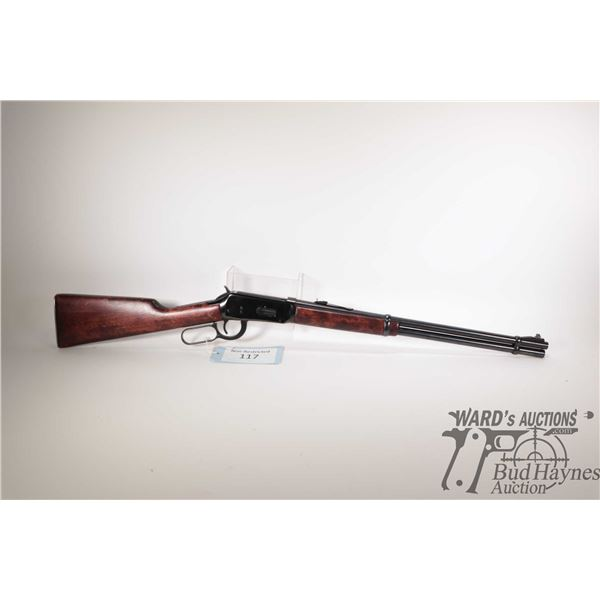 """Non-Restricted rifle Winchester model 94, 30-30 Win. lever action, w/ bbl length 20"""" [Blued barrel,"""