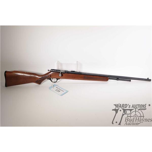 "Non-Restricted rifle Cooey model 600, 22 S-L-LR bolt action, w/ bbl length 24"" [Blued barrel and rec"