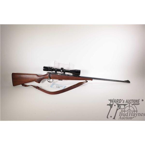 "Non-Restricted rifle CZ BRNO model 2, 22LR bolt action, w/ bbl length 24 3/4"" [Blued barrel and rece"