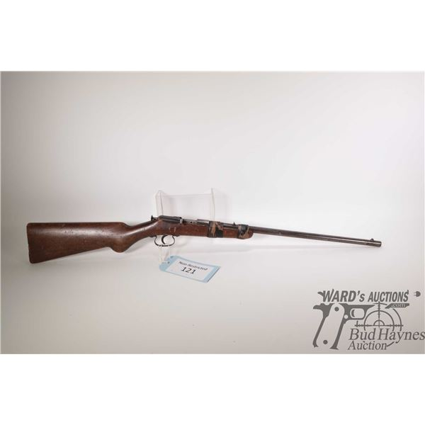 """Non-Restricted rifle Utica model Marksman, 22LR single shot bolt action, w/ bbl length 18"""" [This wel"""