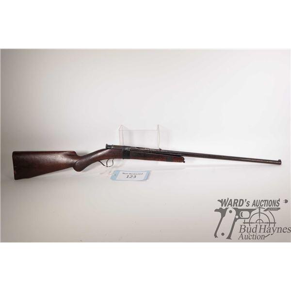 "Non-Restricted rifle Pieper/Bayard model 1909, 22 Short single shot bolt action, w/ bbl length 19"" ["
