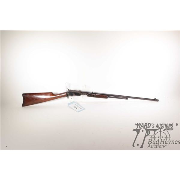 """Non-Restricted rifle Marlin model 20, 22 S-L-LR pump action, w/ bbl length 23"""" [Blued octagonal barr"""