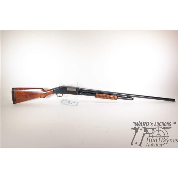 "Non-Restricted shotgun Marlin model 43, 12Ga pump action, w/ bbl length 30"" [Blued barrel and receiv"