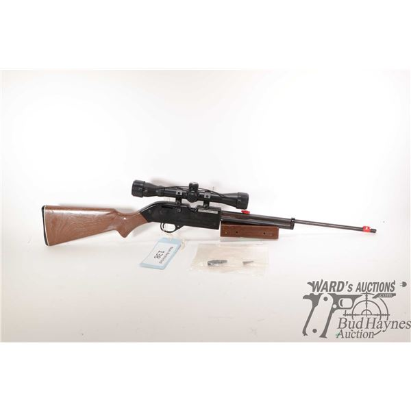 """Non-Restricted air rifle Crossman model 760 (615FPS), .177 cal pump action, w/ bbl length 19"""" [Blued"""